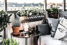 Balcony Space / Balcony decoration ideas.