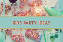 Boy & Unisex Kids Party Ideas / Party ideas for kids, children, boys, girls, toddlers. Decorations, food, snacks