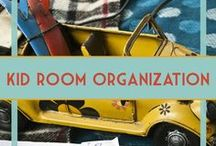 Kids' Room & Toy Organization for Boys / Room and toy organization for kids and boys