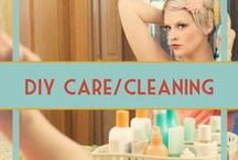 DIY Beauty, Personal Care & Cleaning / Learn how to make your own personal care and cleaning products - soap, shampoo, bath bombs, household cleaning products, and more