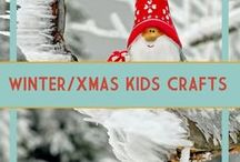 Winter & Christmas Crafts for Kids / Christmas and winter crafts for kids