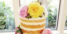 'French' wedding cake / I'm making an 'English' naked cake for a wedding in France. The theme is (loosely) lemons. My cake will be displayed next to the French pièce montée. The wedding flowers will be peonies.