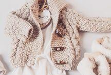 BABCIAOWCA / Wełniane, ręcznie dziergane ubranka dla niemowlaka