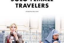 Solo Travel Tips / Great tips for women traveling solo.