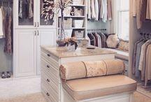 Closet room / New home ideas!
