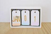DIY Kalender verschenken / Geschenktipp, der besonders zu Weihnachten gut ankommt: ein selbstgemachter Kalender. Hier findet ihr Inspiration.
