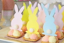Hoppy Easter! / I'm a basket kind of girl.......so making Easter Baskets are my fav!!!!!!! And of course dying Easter eggs and baking some cute little things! / by Lacey Carter