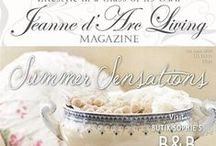Jeanne d'Arc Living Magazines and Books