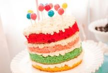 Cake. / layers & sprinkles & candles & celebrate / by with Whimsy