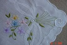 hand embrodery / all kinds of hand embroidery, and tutorials for stitches / by Sue Miller