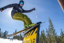 Northstar Terrain Parks / Consistently one of the top 10 freestyle ski and snowboard terrain parks in the nation.  With 7 terrain parks there is something for every ability level of skier or snowboarder.