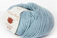 Autumn Wind - Lotus Yarns / Autumn Wind is a lightweight blend of cottonwith a touch of luxurious cashmere. This blend gives you the comfort of cotton with the silkiness and drape of cashmere. It's the best of both worlds.