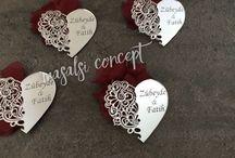 Wedding Gift / Nikah şekeri, nişan hediyesi, nikah hediyesi magnetler