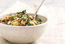 VEGAN grains / Delicious vegan plant based grain recipes using quinoa, brown rice, jasmine rice, basmati rice, farro. For more vegan recipes visit: www.groundleaf.co/. #vegan #veganrecipes