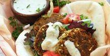 VEGAN meatballs and burgers / Burgers, meatballs, falafels, dumplings and more! For more vegan recipes visit: www.groundleaf.co/. #vegan #veganrecipes