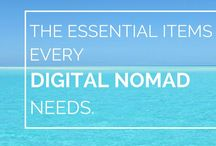 Digital Nomad GROUP BOARD / How to Become a Digital Nomad - Location Independent Advice, setting up remote work for your travel adventure around the world, budget travel tips and advice on working around the world!