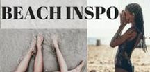 Beach inspo / Inspiration, plage, bohème, beach, instagram, photography
