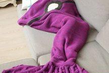 Mermaid Tail Blanket / #