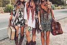 Indie / Boho / Festival Fashion ☮️ / Hair, Fashion & Outfit inspiration for Free Bohemian souls.