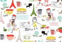 Francophile / Quintessentially French. / by Michelle Eide {I Bake, You Bake}