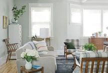 living rooms / by Elissa Toews