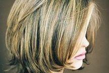 hair / hair, cut, color, style, medium length ideas