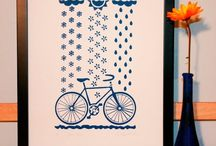 ride bicycles.
