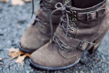 Boots Were Made for Walking / All shoes welcome...but there are a lot of boots / by Geneva Hendrix