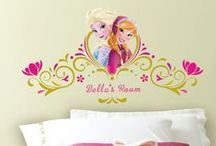Frozen Bedroom Ideas / Build the ultimate Disney Frozen room with our removable wall art! From giant #Elsa, #Anna & #Olaf wall stickers to borders, the Ice Castle, murals and more, shop our collection and create your own Frozen kingdom. Plus, exclusively at #RoomMatesDecor create personalized and custom #DisneyFrozen wall decals. Add your name or create your very own. It's all below! / by RoomMates Decor: Wall Decals & More