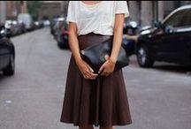 wear it - dresses and skirts / dresses, skirts, ladylike, classic, comfortable, minimal