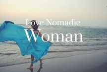 The Love Nomadic woman