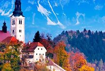Visit Slovenia / Thinking about venturing on your next European trip?  Slovenia is a magical array of fairytale castles, snow peaked mountains & emerald green lakes that will blow your mind.