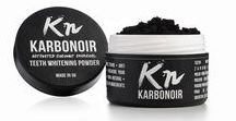 KARBONOIR - getting your teeth whiter / Activated charcoal, produced of coconut shell is a natural alternative to other teeth whitening products. info@karbonoir.si