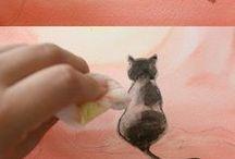 Dibujos y pintura