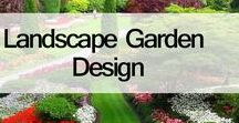 Landscape Garden Design / Front Yard and Backyard Landscaping Ideas, Easy Landscaping Ideas, find Best Landscaping Ideas.
