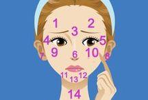 Face / Makeup and facial beauty tips/tricks.