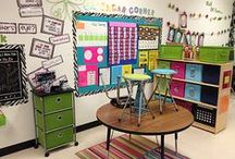 Classroom Decor / Decorate your classroom to your style.  Find pins for library, small group and whole class themes on this board