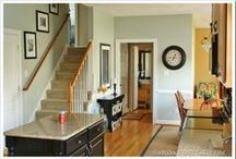 Home-Remodeling and Painting / As my house ages I am always looking for ideas to update or do something different. There are many wonderful ideas here. / by Carol Rider
