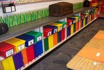 Organization for the Classroom / Organizing the classroom and children areas leaves more time for teaching