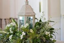 Home-Centerpieces and Wreathes / My mother and I have enjoyed making wreathes and centerpieces through the years. Though we have not made a tremendous number we have had fun doing it. / by Carol Rider