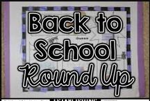 August / August  and back to school pins for elementary school classrrom teachers and students