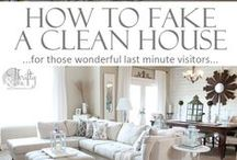 Cleaning & Organizing / Everything from organization tips and tricks to home-made cleaning products.