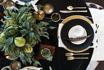 The Table Is A Safe Place / Tablescapes. Table Settings.  / by Caddy D
