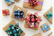 Gifted / Ribbons, Wrappers, Gifts, Stationery / by Caddy D