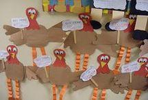 November / Novemebr brings Thanksgiving, fall, turkeys, pligrims and indians, Veterans Day and more