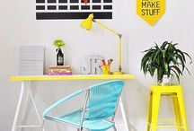 Home Office Design / Create an ideal DIY home office with our design ideas for your perfect space to work from: for entrepreneurs, business owners, and bloggers.