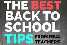 Back to School / All things for BACK TO SCHOOL management, decor, organizing, lessons, first day activities and so much more