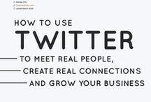 Social Media Twitter Strategy/Tips / Social media Twitter strategies, tips, and guides to gain a following and get visible to your ideal clients online! Focusing on Twitter strategies and Twitter chats for creative entrepreneurs and small business owners.