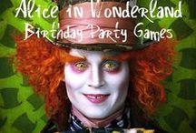 6th birthday: Alice in Wonderland