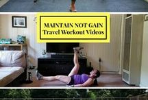 """Smart Traveling Tips / It's easy to """"fall off the wagon"""" when you are on vacation, away for the weekend, or on a business trip. Why let travel derail you from staying on track with your nutrition and fitness? Why not aim to maintain not gain weight? I've put together a board that will help you travel smart while still working towards your health goals."""